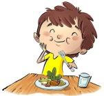 anak doyan makan