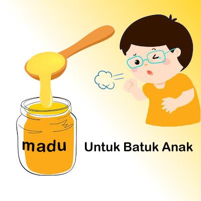 manfaat madu untuk batuk anak balita